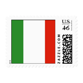 Italian Flag Postage Stamps SMALL
