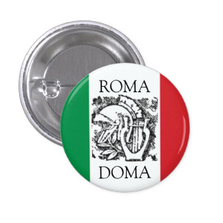 italian flag  ROMA, DOMA Pins