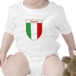 _ Italian Flag Shield Romper