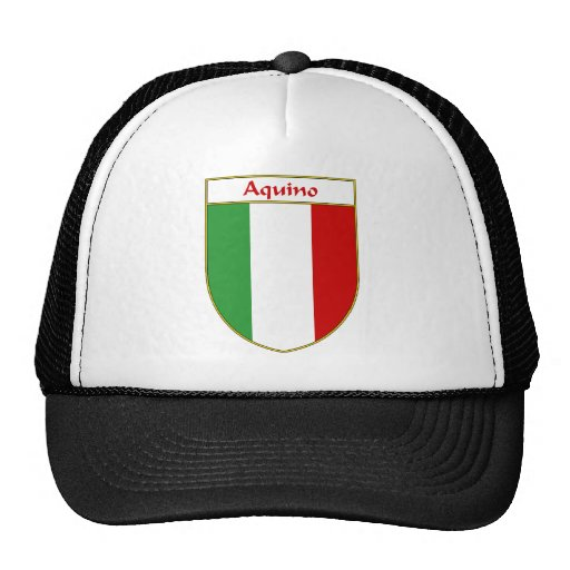 _ Italian Flag Shield Trucker Hat
