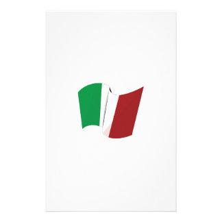 Italian Flag Stationery Design