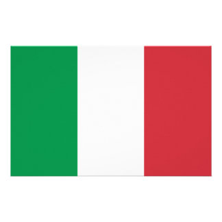 Italian Flag Stationery
