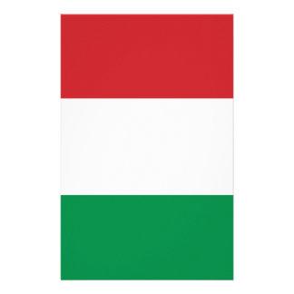 Italian flag stationery