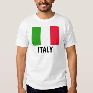 ITALIAN FLAG TEE SHIRT