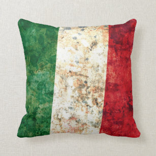 Italian Flag Decorative Throw Pillows Zazzle