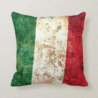 Italian Flag Throw Pillow