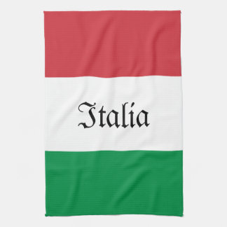 Italian Flag Towel