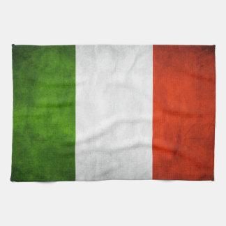 "Italian Flag Towel 16"" x 24"