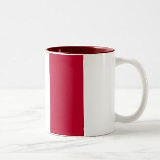 ITALIAN FLAG Two-Tone COFFEE MUG
