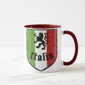 Italian Flag Vintage Coffee Mug