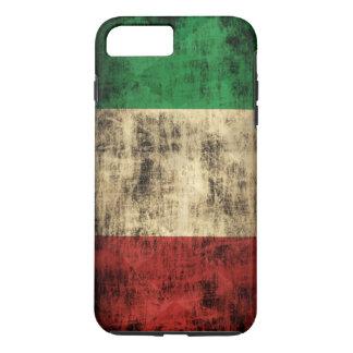 Italian Flag Vintage Grunge iPhone 8 Plus/7 Plus Case