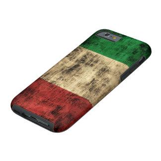 Italian Flag Vintage Grunge Tough iPhone 6 Case