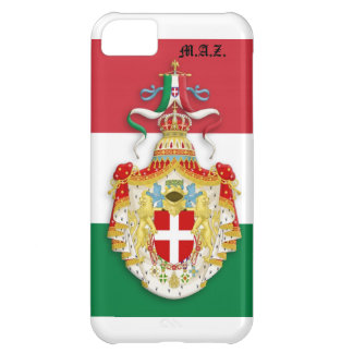Italian Flag with insignia of the Kingdom of Italy Cover For iPhone 5C