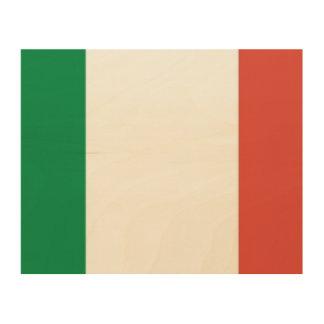 italian flag wood wall decor