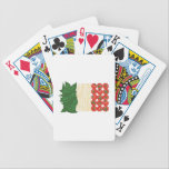 "Italian Food Bicycle Playing Cards<br><div class=""desc"">Pasta is the favorite foundation for a family meal.  Get this delicious design on towels,  aprons,  and shirts for the perfect gift.</div>"