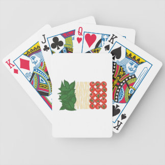 Italian Food Bicycle Playing Cards