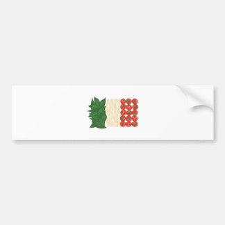 Italian Food Bumper Sticker