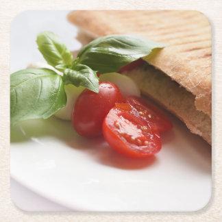 Italian food coaster