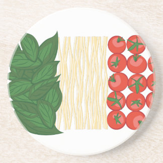 Italian Food Drink Coaster