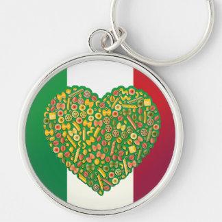 Italian Food  Keychain