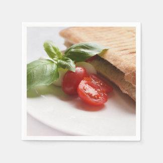 Italian food paper napkin