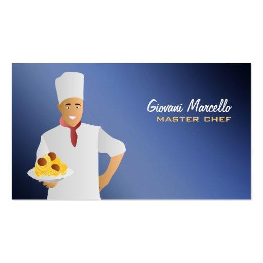 Italian Food Pasta Business Cards