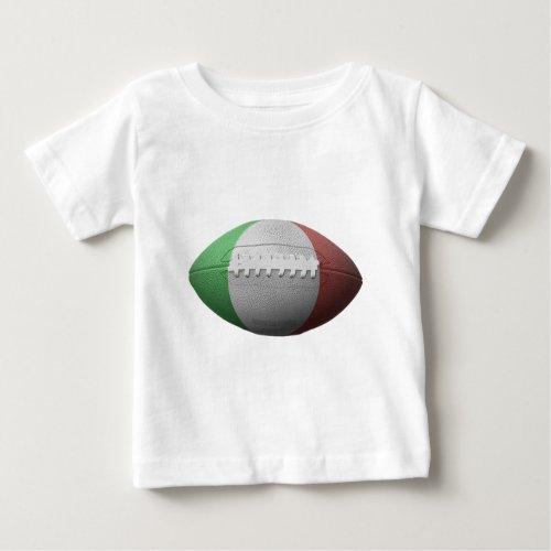 Italian Football Flag Baby T_Shirt