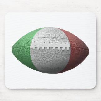 Italian Football Flag Mouse Pad
