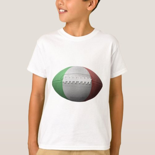 Italian Football Flag T_Shirt