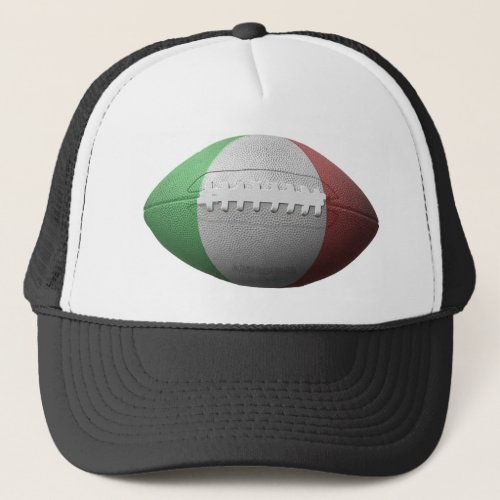 Italian Football Flag Trucker Hat