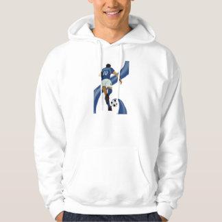 italian football gifts for Azzurri soccer fans Hoodie