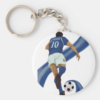 italian football gifts for Azzurri soccer fans Keychains