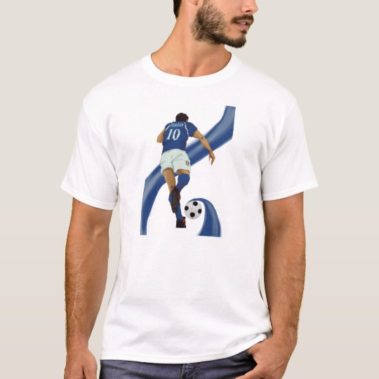 italian football gifts for Azzurri soccer fans T-Shirt