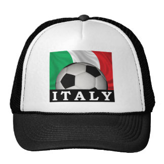 Italian Football Trucker Hat