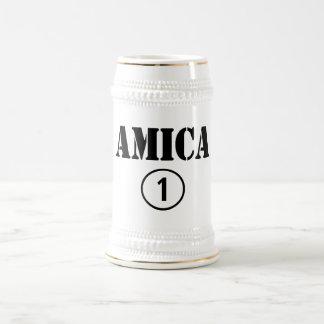Italian Friends : Amica Numero Uno Coffee Mug