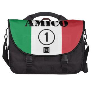 Italian Friends : Amico Numero Uno Bags For Laptop
