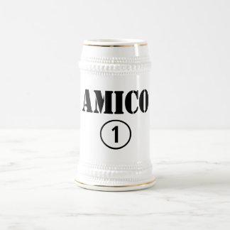 Italian Friends : Amico Numero Uno Beer Stein