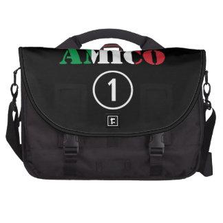 Italian Friends : Amico Numero Uno Laptop Messenger Bag