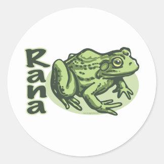 Italian Frog - Rana Sticker