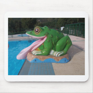 Italian Frog Slide Mouse Pad