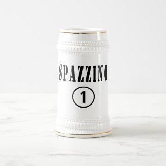 Italian Garbage Men : Spazzino Numero Uno Beer Stein