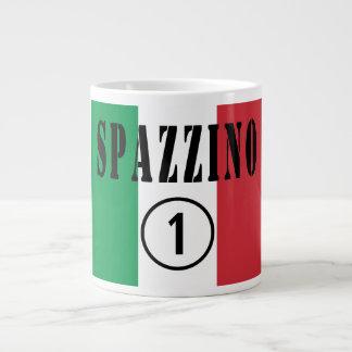 Italian Garbage Men : Spazzino Numero Uno Giant Coffee Mug
