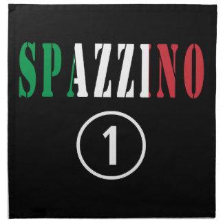 Italian Garbage Men : Spazzino Numero Uno Cloth Napkins