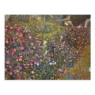 Italian Garden by Gustav Klimt Postcard