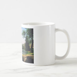 Italian Garden Estate Fountain ~ Italy Travel Coffee Mugs