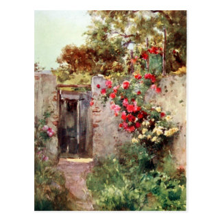 Italian Garden Postcard