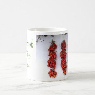 Italian Garden Tomato Pot Coffee Mug