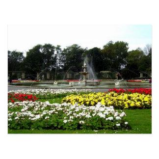 Italian Gardens, Blackpool Postcard