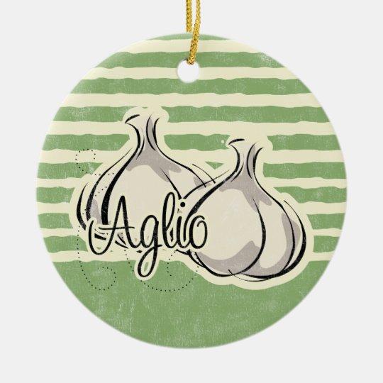 Italian Garlic Ornament