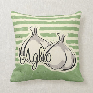 Italian Garlic Pillow